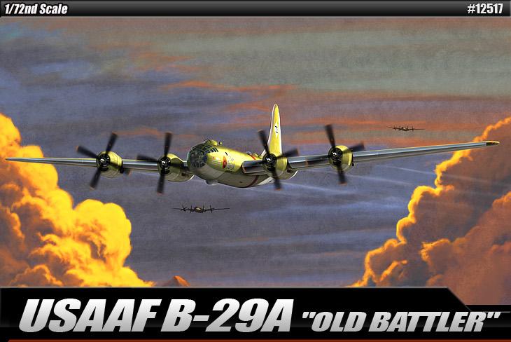 AC12517 USAAF B-29A OLD BATLER 1/72