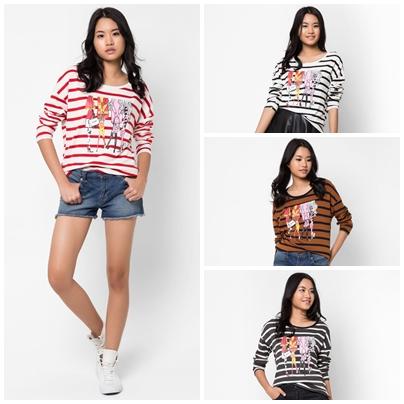 เสื้อยืด Shopping Girls