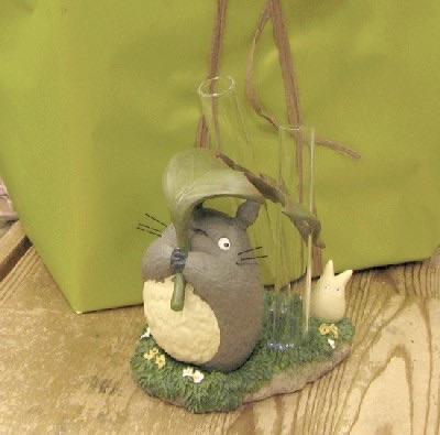 แจกันหลอดแก้ว My Neighbor Totoro (2 ก้าน)